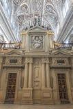 Katedralny insite Mezquita w cordobie Zdjęcia Stock