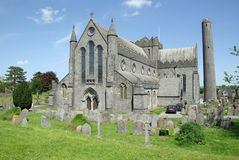 katedralny Ireland Kilkenny Fotografia Royalty Free
