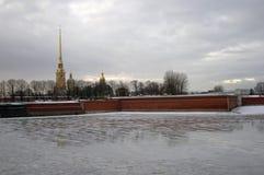 katedralny Isaac cupola Petersburg Rosji jest święty st Paul fortecy Petera Obrazy Stock