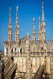 katedralny Italy Milan Zdjęcia Stock