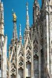 katedralny Italy Milan Obraz Royalty Free
