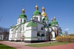 katedralny Kiev sophia st Ukraine Zdjęcia Stock