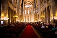 Katedralny kościół Zdjęcia Stock