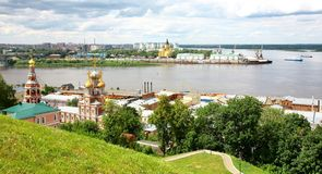 katedralny kościelny Lipiec nevsky stroganov widok Obraz Stock
