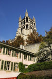 katedralny Lausanne Obraz Royalty Free