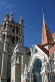 katedralny Lausanne Zdjęcia Stock