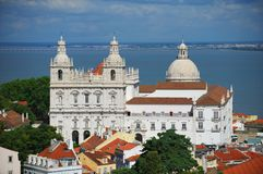 katedralny Lisboa Zdjęcia Royalty Free