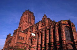 katedralny liverpoolu. Obrazy Royalty Free