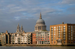 katedralny London Paul s południe st Obrazy Royalty Free