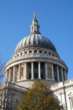katedralny London pauls st Zdjęcie Royalty Free