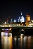 katedralny London pauls st Obraz Stock