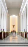 katedralny ślub Fotografia Royalty Free