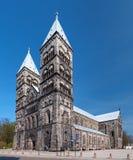 katedralny Lund Sweden Fotografia Royalty Free