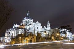 katedralny Madrid Zdjęcia Stock