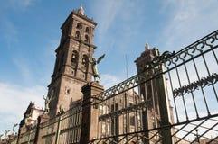 katedralny Mexico Puebla Fotografia Stock
