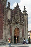 katedralny miasta Meksyk Obraz Royalty Free