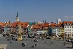 Katedralny miejsce Erfurt obraz royalty free