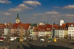 Katedralny miejsce Erfurt fotografia stock