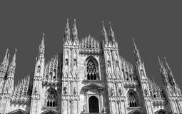 katedralny Milan Obrazy Stock