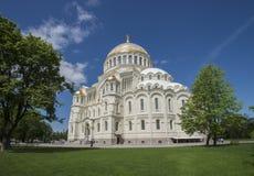 katedralny morski kronstadt Fotografia Stock