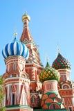 katedralny Moscow basila saint Fotografia Royalty Free