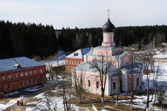 katedralny Moscow regionu Russia s trinity obraz stock
