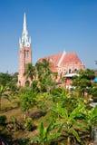katedralny Myanmar Yangon Obrazy Royalty Free