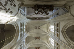 Katedralny Nantes Obraz Royalty Free