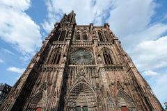 Katedralny Notre Damae, Strasburg, Francja fotografia stock