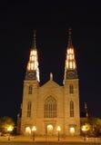 katedralny notre dame obrazy stock