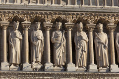 katedralny notre dame Paryża zdjęcia stock
