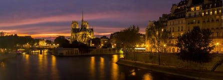 katedralny notre dame Paryża Obraz Stock