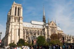 Katedralny Notre-Dame Reims Zdjęcia Royalty Free