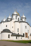 katedralny novgorod Russia świętego sophia Obraz Royalty Free