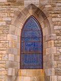 Katedralny okno Obrazy Royalty Free