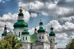 katedralny ortodoksyjny rosjanin Obrazy Stock