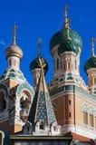 katedralny ortodoksyjny rosjanin Fotografia Royalty Free