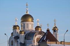katedralny ortodoksyjny rusek Fotografia Stock