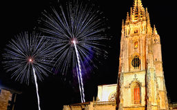 katedralny Oviedo Fotografia Stock