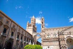 katedralny Palermo Zdjęcia Royalty Free