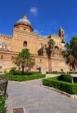 katedralny Palermo Sicily Zdjęcia Stock