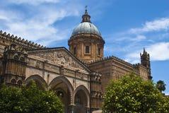 katedralny Palermo Sicily Fotografia Stock