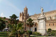 katedralny Palermo Włochy Sycylia Zdjęcia Royalty Free
