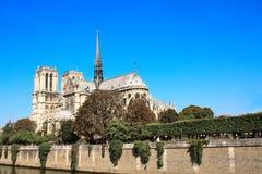 katedralny paniusi de France notre Paris Obrazy Stock