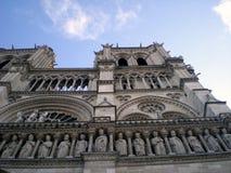 katedralny paniusi de France notre Paris Zdjęcie Stock