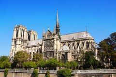 katedralny paniusi de France notre Paris Obrazy Royalty Free