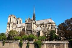 katedralny paniusi de France notre Paris Obraz Stock
