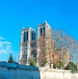 katedralny paniusi France notre Paris Obraz Stock