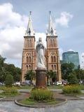 katedralny paniusi notre saigon Obraz Stock