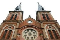katedralny paniusi notre saigon Vietnam Obrazy Stock